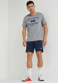 Nike Performance - DRY ACADEMY SHORT  - Sports shorts - obsidian/obsidian/white - 1