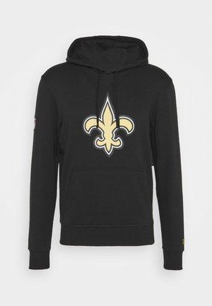 NFL NEW ORLEANS HOODIE - Club wear - black