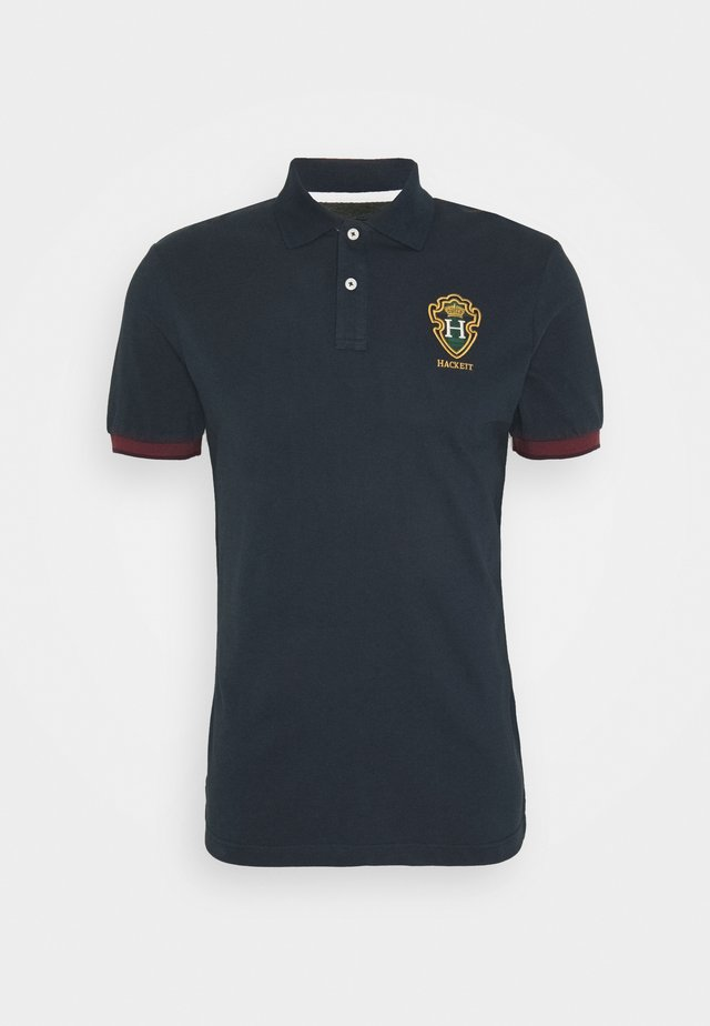 BLACKWATCH CREST - Koszulka polo - navy