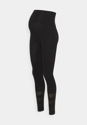 MATERNITY SEAMLESS - Leggings - black