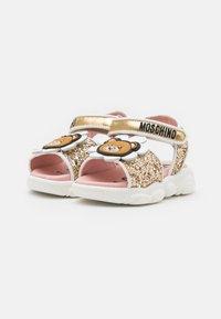 MOSCHINO - Sandals - gold - 1