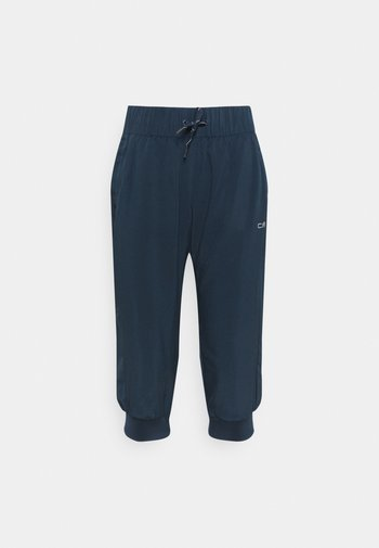 WOMAN PANT 3/4 - 3/4 sports trousers - blue