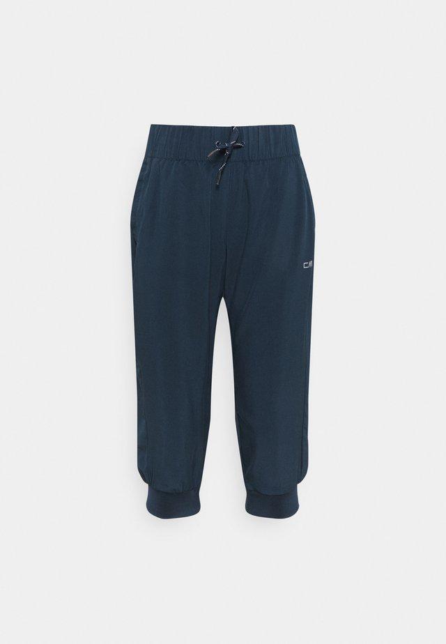 WOMAN PANT 3/4 - Pantalon 3/4 de sport - blue