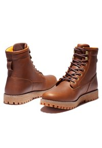 Timberland - JACKSON'S LANDING PT WP - Lace-up boots - rust full grain - 2