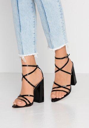 HALO - Sandaler med høye hæler - black