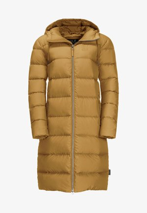CRYSTAL PALACE - Down coat - golden amber