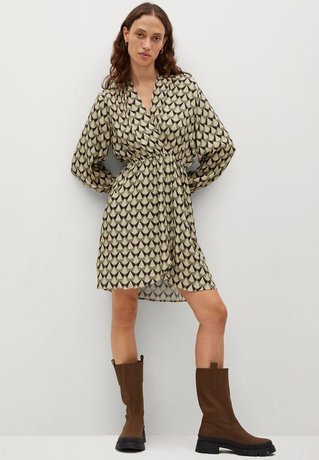 BIAS - Korte jurk - vert