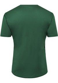 Hummel - DUO SET - Sports shorts - evergreen/black - 2