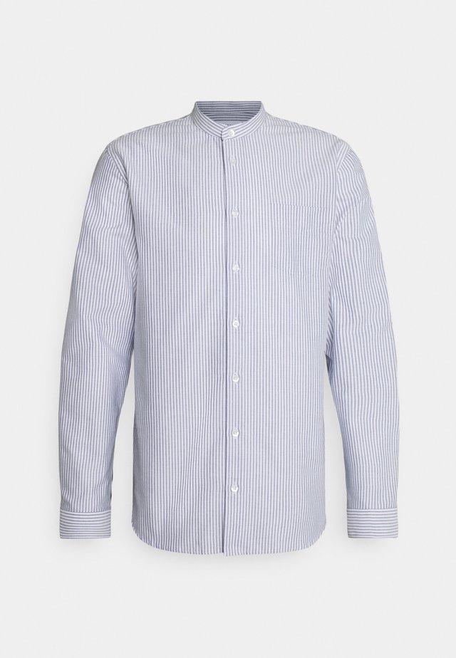 FACTORY - Hemd - white blue stripe
