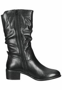 SPM Shoes & Boots - Laarzen - black leather - 6