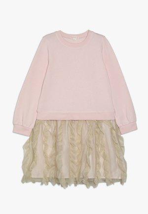 PENNY FRANCO DRESS - Day dress - pink/gold shimmer