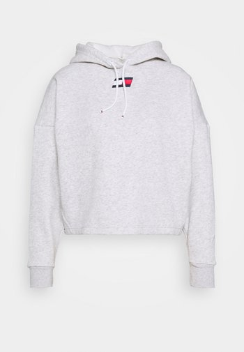 CROPPED HOODY FLAG LOGO