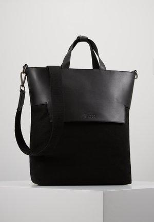 UNISEX LEATHER - Velká kabelka - black