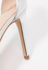 ALDO - AROCLYA - Sandaler med høye hæler - silver - 2