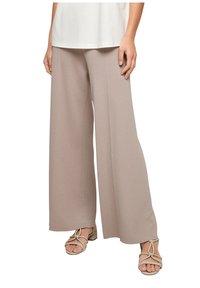 s.Oliver BLACK LABEL - Trousers - light grey - 5