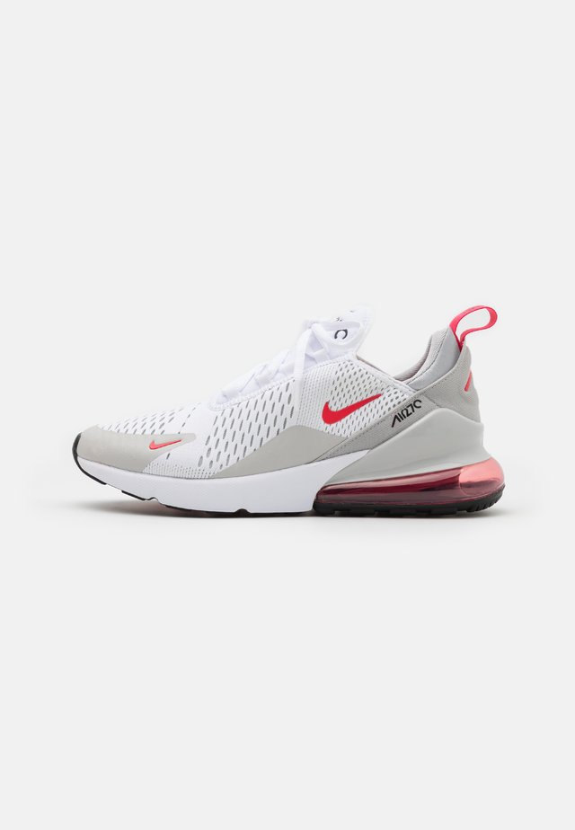 AIR MAX 270 - Sneakers basse - white/light fusion red/grey fog/black