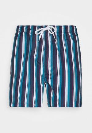 ESSEX - Swimming shorts - navy/white