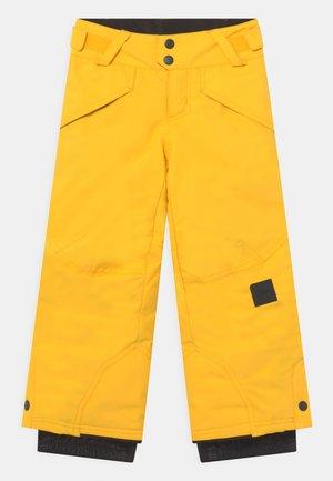 ANVIL - Zimní kalhoty - chrome yellow