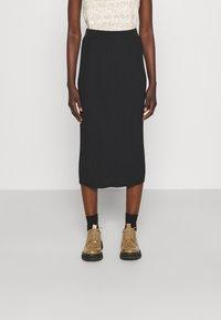 Max Mara Leisure - RARO - Plisovaná sukně - black - 0