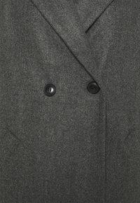 Vero Moda - VMFORTUNEADDIE JACKET - Classic coat - dark grey melange - 2