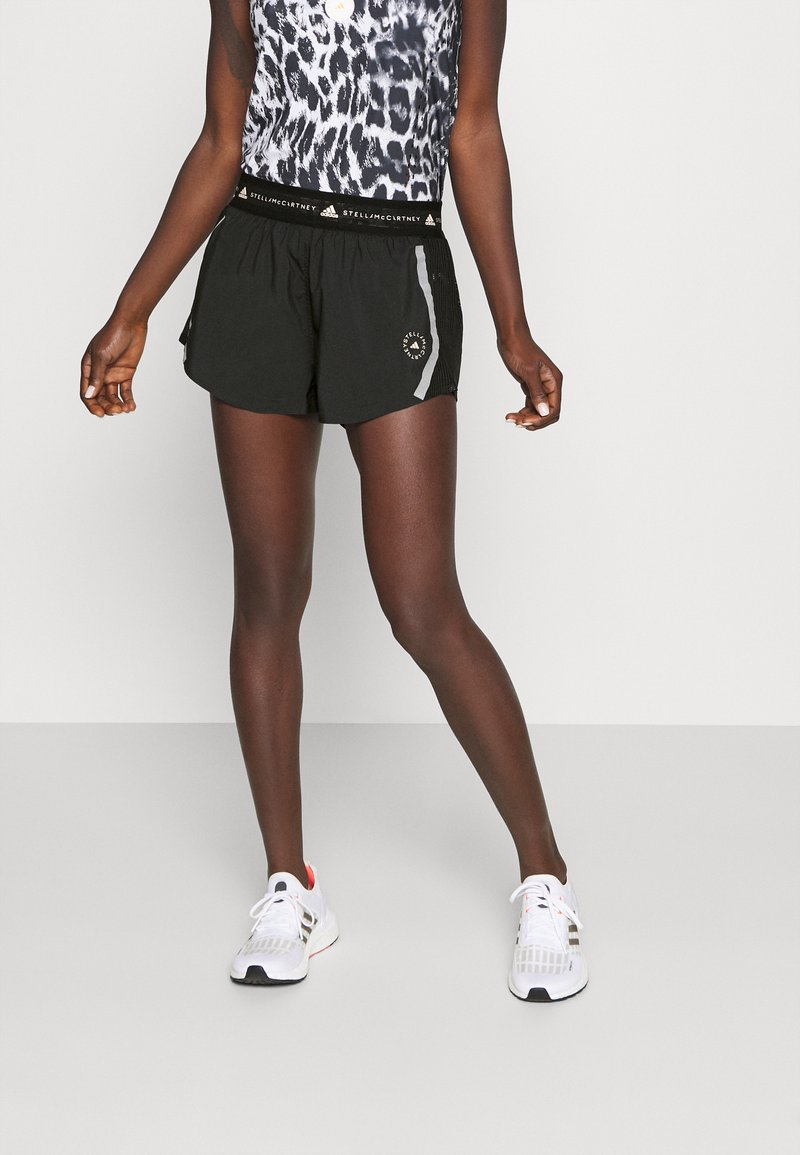 adidas by Stella McCartney - TRUEPACE - Sportovní kraťasy - black