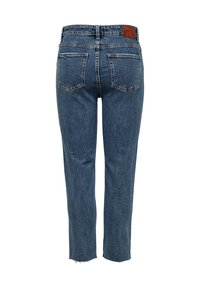 ONLY - EMILY  - Džíny Straight Fit - dark blue denim - 0