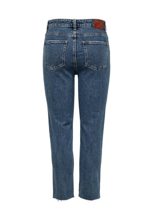 EMILY  - Jeans Straight Leg - dark blue denim
