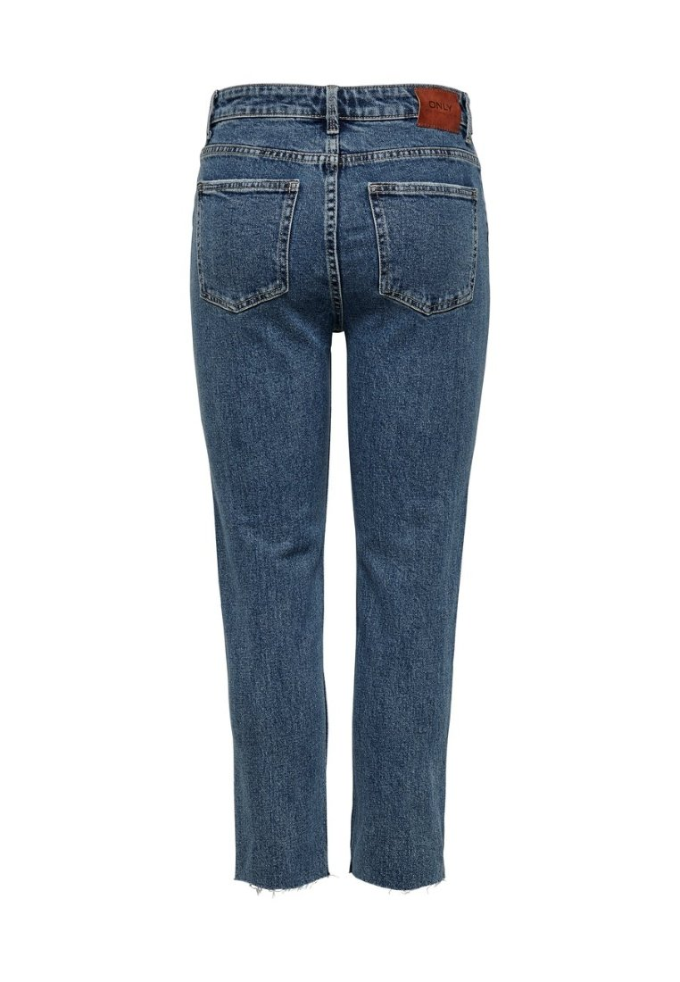 ONLY - EMILY  - Džíny Straight Fit - dark blue denim