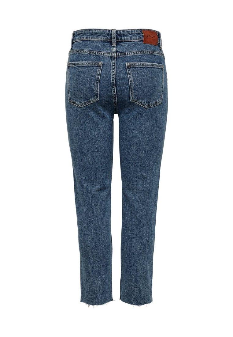 EMILY Jeans Straight Leg dark blue denim