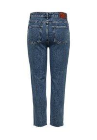 ONLY - EMILY  - Straight leg jeans - dark blue denim - 5