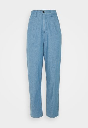PLEATED STELLA - Jeans Tapered Fit - blue