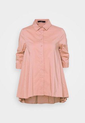 BENITA FASHIONABLE BLOUSE - Button-down blouse - blush rose