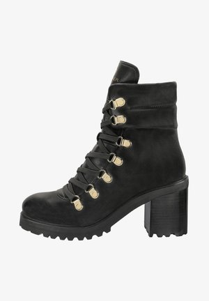 AMY 1A - Lace-up ankle boots - black