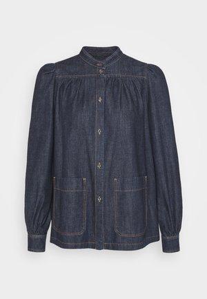 VOCIARE - Button-down blouse - nachtblau