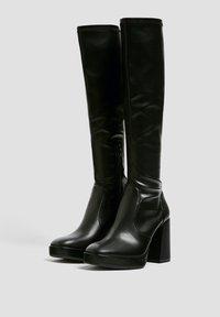 PULL&BEAR - High heeled boots - black - 2