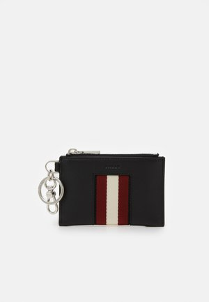 Wallet - black/bone/red