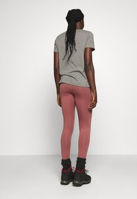 Burton - MULTIPATH LEGGING - Leggings - rose/brown - 2