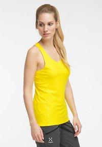 Haglöfs - L.I.M TECH TANK - Sports shirt - signal yellow - 2
