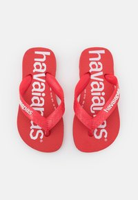 Havaianas - TOP LOGOMANIA  - Pool shoes -  ruby red white - 3