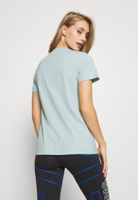 adidas Performance - BOS TEE - Print T-shirt - mint - 2