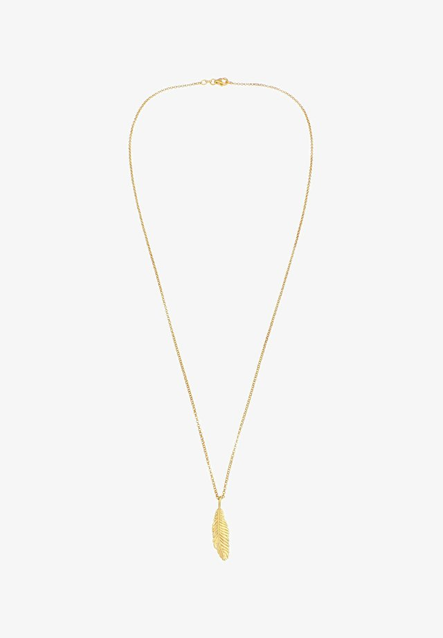 FEATHER - Collier - gold