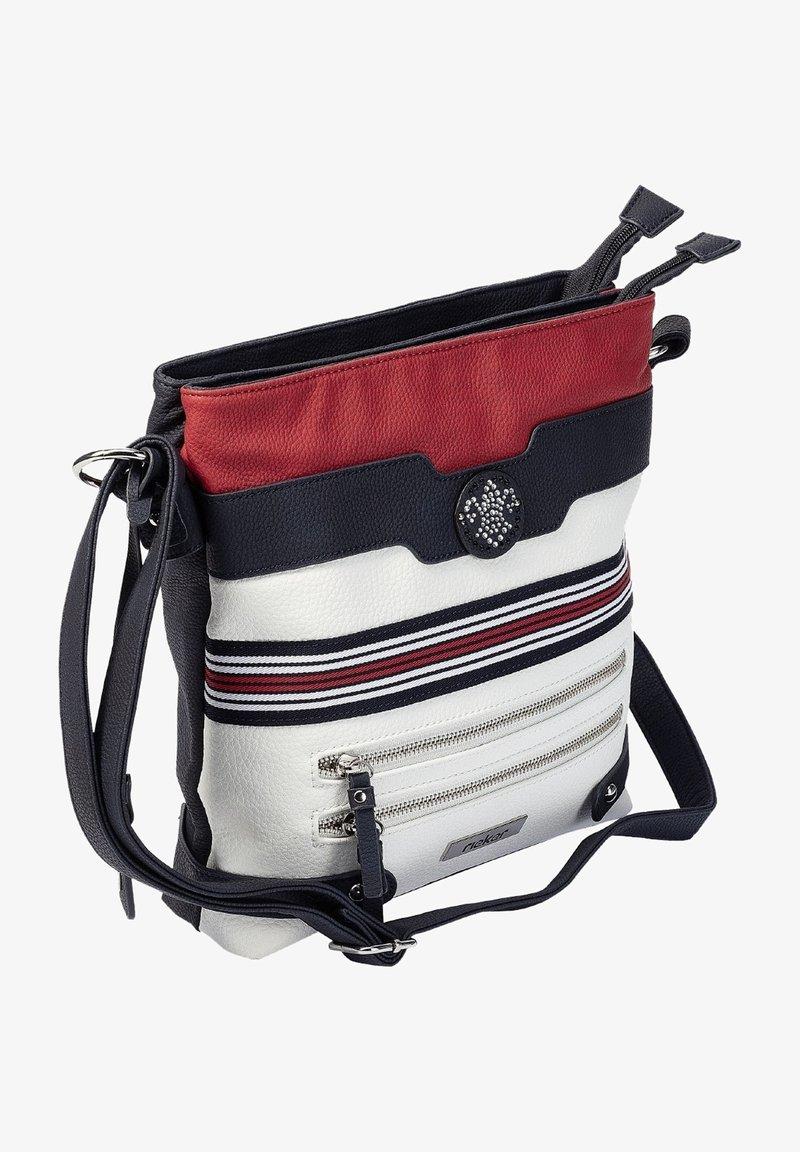 Rieker - Across body bag - pacific bianco rosso