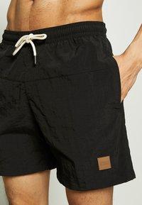 Urban Classics - BLOCK SWIM 2 PACK - Swimming shorts - orange/black - 4