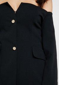 Club L London - BARDOT V DETAIL - Blazer - black - 4