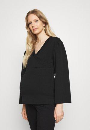 MLTHEKLA TESS - Bluzka z długim rękawem - black