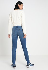 Lee - SCARLETT - Jeansy Skinny Fit - stone blue denim - 2