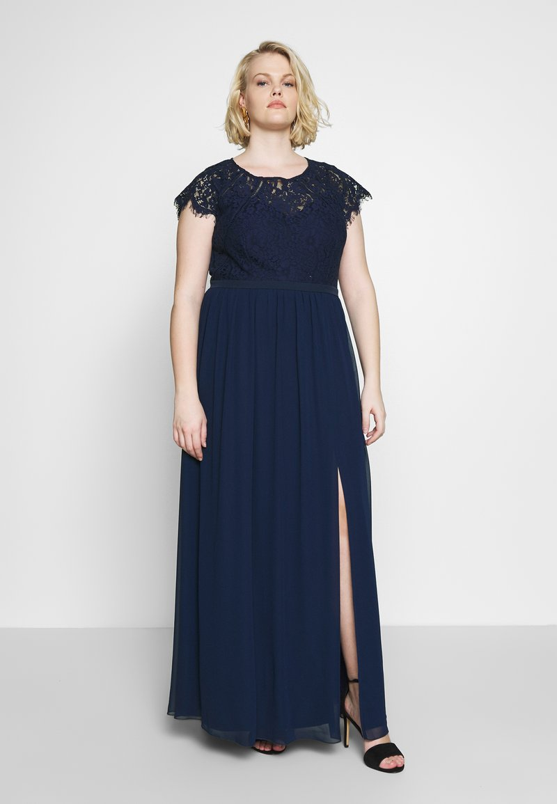 Little Mistress Curvy - MAXI - Occasion wear - navy