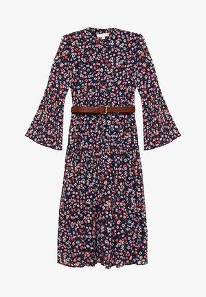 SLEEVE DRESS - Shirt dress - coral/peach