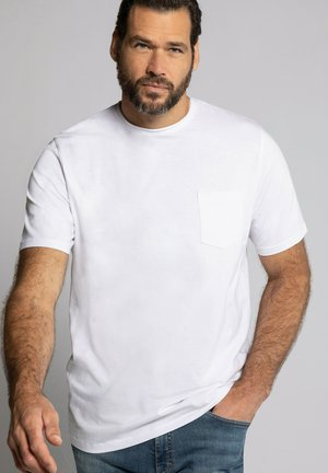 Basic T-shirt - schneeweiß