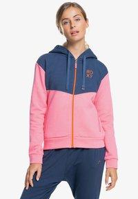 Roxy - Zip-up sweatshirt - pink lemonade - 0